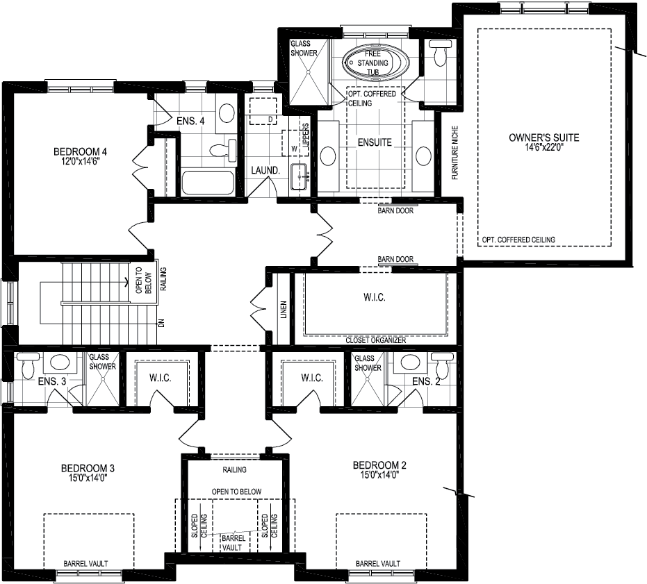 second floor A