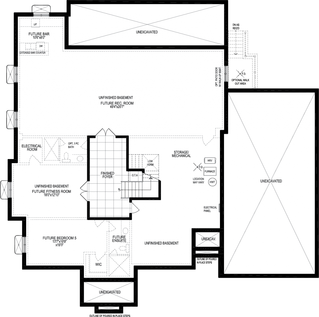 basement A