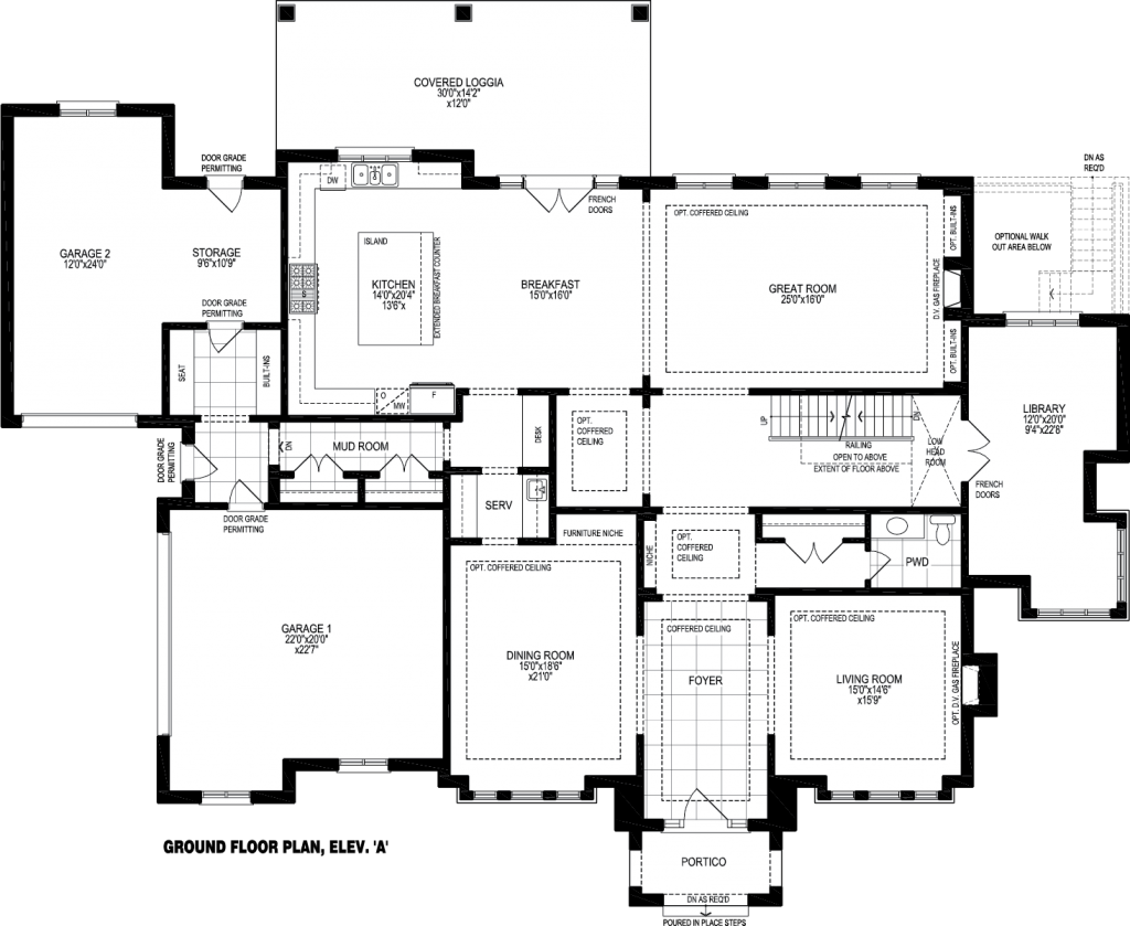 ground floor A